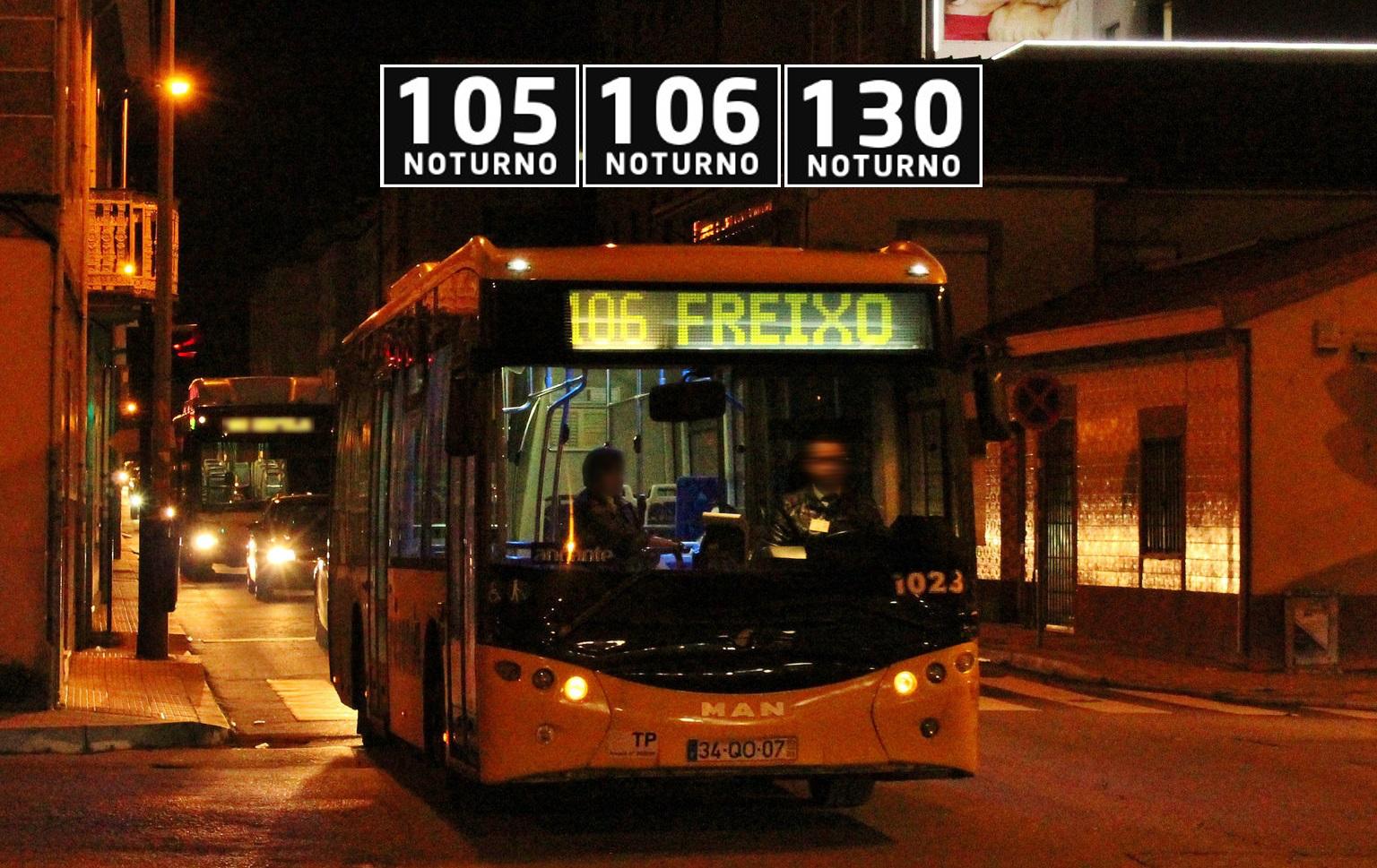 Alteração de Horários – 105N, 106N e 130N