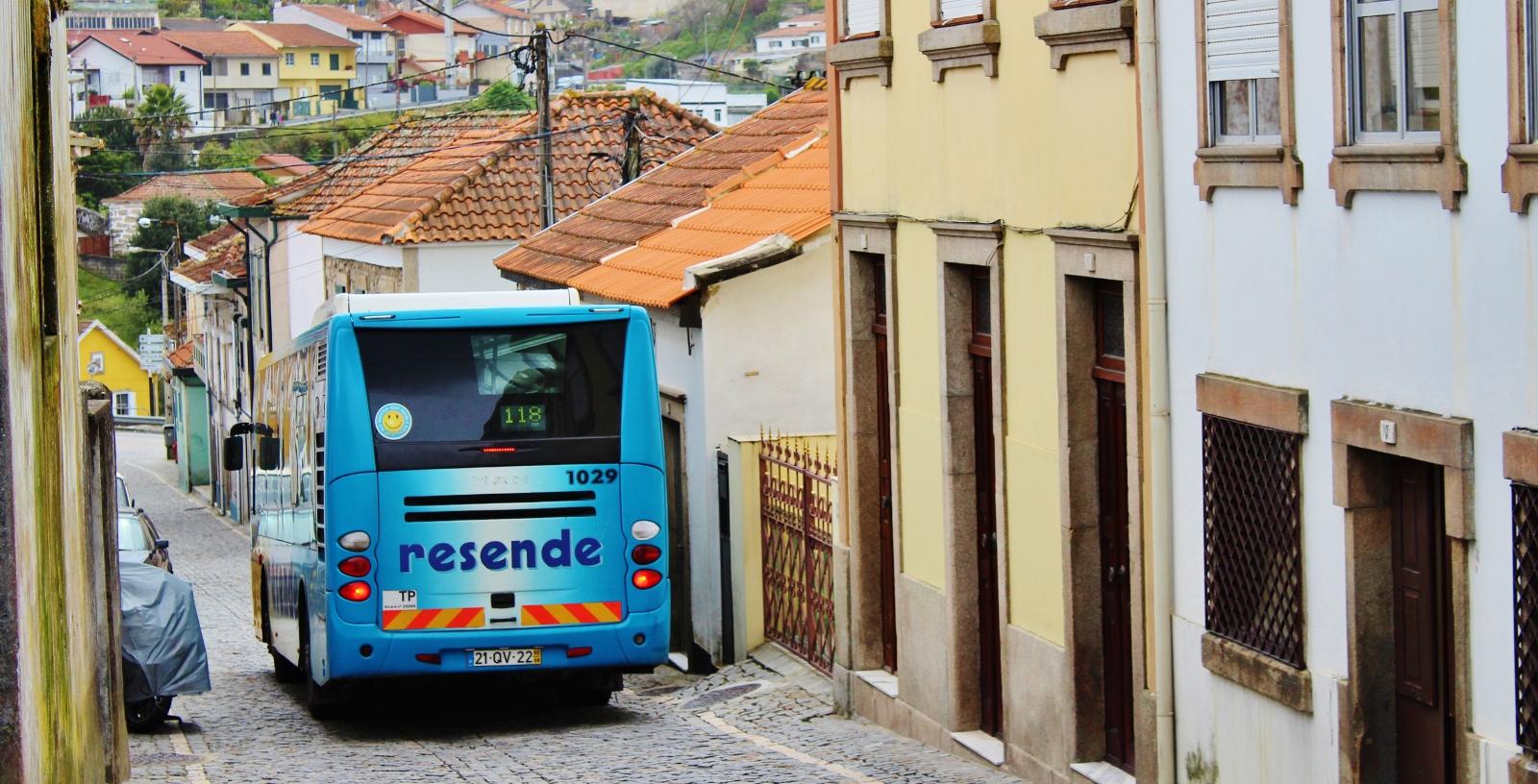 [Actualização] Obras na R. Teófilo Carvalho dos Santos e na R. Porto Mouro (Guifões) – 118+119+124+105N